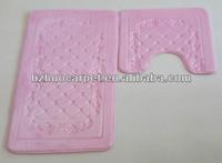 Hot-selling memory foam anti slip PVC bath mat