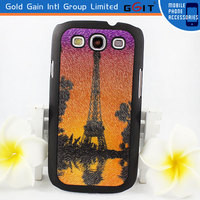 High-grade Fashion Tower Pattern Protective Back Cover Case For Samsung S3 I9300