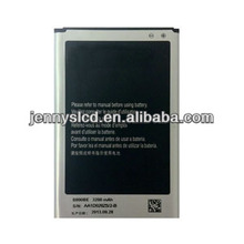 Original mobile phone battery for Samsung Note 3 high quality