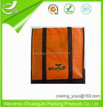 Various size color non woven luxury paper shopping bag