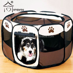 600D Oxford cloth Folding Dog Cage Pet Tent Octagonal pet fence
