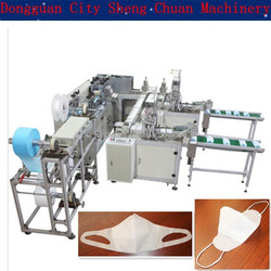 SC-J0114 One Step Molding Nonwoven Mask Making Machine