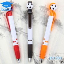 Children use cute ballpoint pen,plastic roller pen,foot ballpen