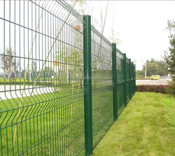 Wire Mesh Fence for Sale High Quality Triangle Bending Welded Wire Mesh Fence Fence Netting