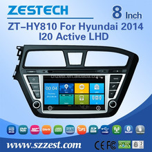 ZESTECH car dvd with gps navigation for Hyundai I20 Active 2014 LHD car dvd Multimedia OEM systems for cars navigation