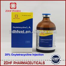 Oxitetraciclina clorhidrato de inyección/veterinaria