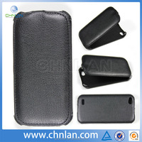 2014 hot selling Russia brand phone Luxury PU heating press leather flip case for fly case IQ4410 QUAD flip cover