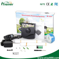Electronic dog fence with electronic dog system for many dogs