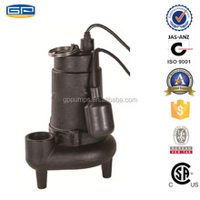 Cast Iron Sewage Pumps with CSA certification -water pumps for sale
