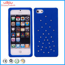 diamond silicone phone case for iphone 5G