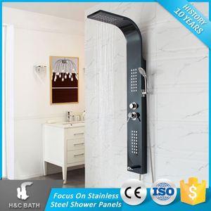 Importador De China Producto Columnas Columna de Ducha de Masaje de Ducha de Esquina