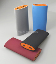 Frosted matte 60 degree shake display power portable mobile power bank 15000mah