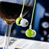 high end in-ear plastic earbud mp3 headphone