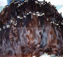 100% virgin remy human hair bulk