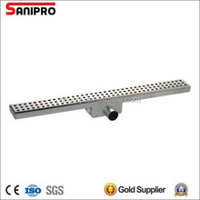2015 hot sell floor linear drain stainless