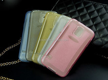 High Quality Soft TPU Case,Glitter TPU Case For Samsung Galaxy S5 i9600