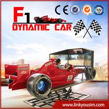 Used amusement park equipment 2013 left hand or right hand car driving training simulator