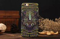 Fashion King style Noctilucent Glow in the dark Hard PC cover for iphone 5 pc case china wholesale