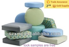 Square/ round chair cushion cheap wholesale plain pillows home decor small box pillow