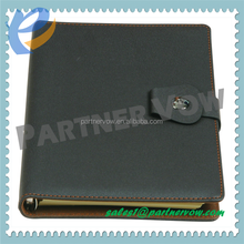 A5 custom pu cover notebook & stationery product & notepad