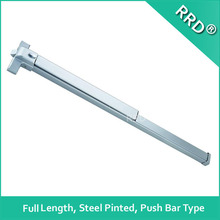 Steel Painted Full Length Push Bar, American Style ,RRD-151P-F, RRD Lock