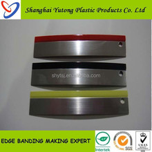 3D plastic edging for furniture