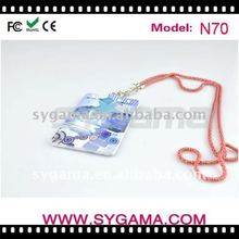 2012 Mp3 with Metal chain as christmas gift