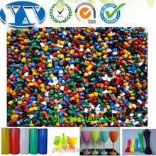 Film Blowing & Injection & Extrusion PE HDPE LDPE LLDPE Color Masterbatch For Plastic Product