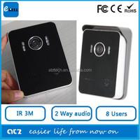 2015 ATZ wireless doorbell with camera intercom ip wifi doorbell video doorbell in waterproof design