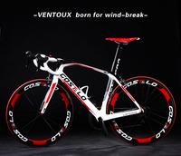 TOP SALE ! 2015 T1000 bicicleta carbono full carbon road bicycle Costelo Ventoux carbon road bicycle complete cheap road bikes