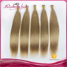 Excellent sticker hair extensions, keratin fusion tip 100% remy human hair extension