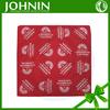 soft red polycotton dog bandana for promotion