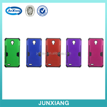 New products wholesale card slot style fancy cell phone cases with card holder,PC+TPU phone case back cover for OT-7046