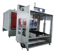 2015 the newest design AUTOMATIC BIG carton film SLEEVE WRAPPING AND shrink packing machine