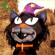 Amazing Custom Decoration Hot Sale Inflatable Halloween Cartoon Cat