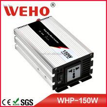 Plug choose by yourself 150w dc 48v to ac 110v pure mppt solar inverter