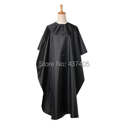 Новый полезная салон парикмахерская платье кабо парикмахерские крышка парикмахерская черный водонепроницаемой ткани
