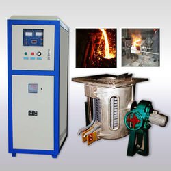 30kg to 500kg steel iron copper aluminum induction melting furnace