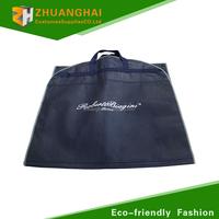 non woven custom wedding dress non woven foldable garment bag wholesale