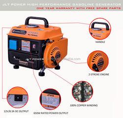 Portable gasoline generator 2 stroke generator 950 Home use