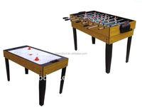 4FT indoor sport 2-in-1 multi purpose Soccer Air hockey table