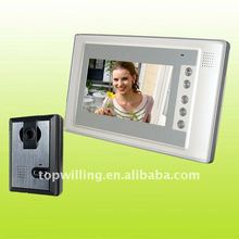 7inch LCD color video door phone, intercom system manufacturer