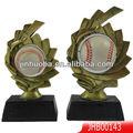 popular de béisbol de resina trofeo de manualidades para vender