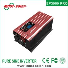EP3000 PRO series built in 50A solar charge controller off grid low frequency 3000W 48VDC 220VAC solar power inverter