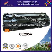 (CS-H285A) BK toner laserjet printer laser cartridge for HP CE285A CE 285a 85a P1102 P1102W M1132 M1212 M1214 M1217