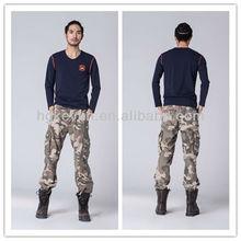 personalizado 2014 nuevo modelo de algodón para hombre camo pantalones de carga