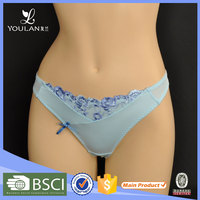 High Quality Sex Appeal Women Plain Lace oem hot women wearing sexy g string thongs