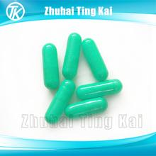 Light blue hard gelatin size 1 empty capsules