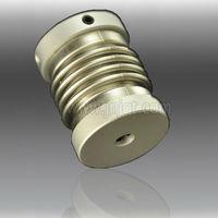 D40mm L62mm CNC Machine Coupling/ Setscrew Flexible Metal Bellow Coupling