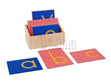 Montessori Lower Case Sandpaper Letters montessori preschool materials